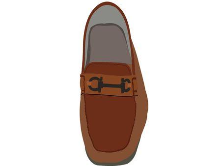 one shoe on isolated background Stock Photo - 3749398