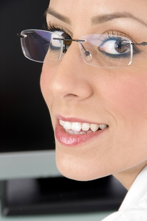 close up view of doctor's face Stock Photo - 3961790