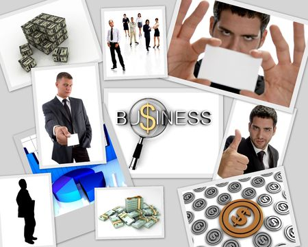 many images that related to money and business photo