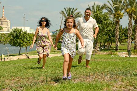 Child on the run photo