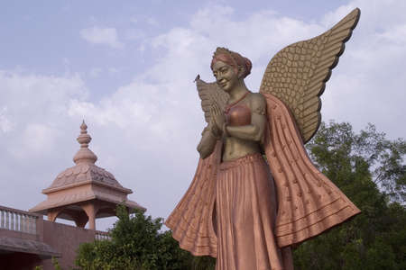 female likeness: Statue of an angel
