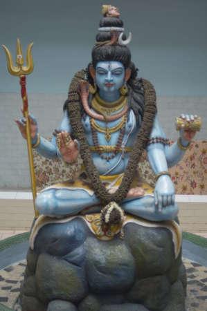 shiva: Close-up of a Shiva statue