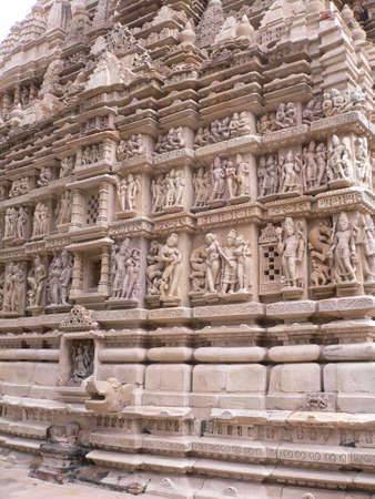 female likeness:  India, Madhya Pradesh, Khajuraho, Mahadeva Temple