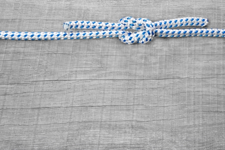 firmness: Rigging knots nautical - background wooden maritime