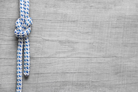 firmeza: Nudos Rigging naútico - fondo marítimo de madera