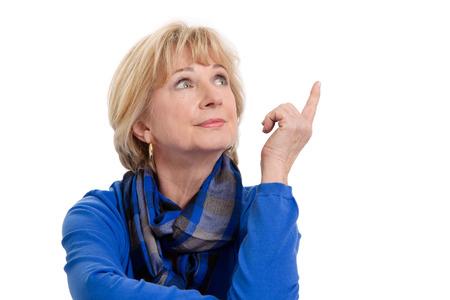 alte dame: �ltere Frau Denken