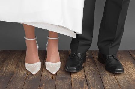 Chaussures de mariage couple
