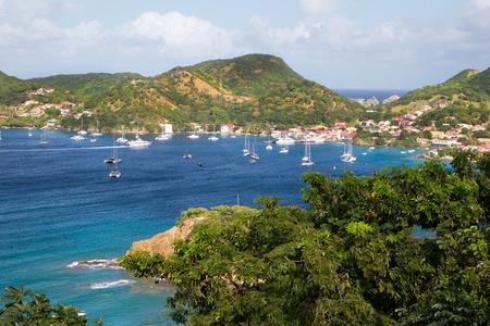 カリブ海から風景マルティニーク島
