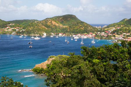 Paesaggio dall'isola caraibica della Martinica Archivio Fotografico - 27307162