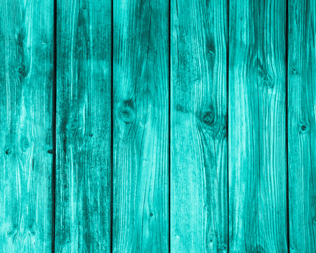 Surface of empty wooden turquoise background  Stock Photo