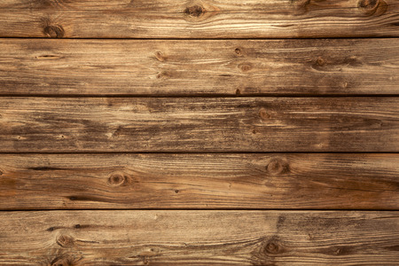 Wooden background - natural in brown color  Stock Photo