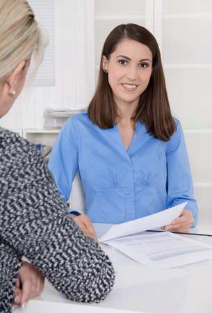 Vrouwelijke adviseur