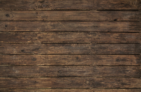 nostalgic: Ancient and old wooden background. Empty surface of an nostalgic board for texture. Stock Photo
