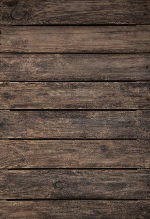 madera rústica: Antiguo cosecha de madera de color marrón oscuro modeló el fondo.