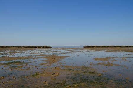 wadden: Tide at the danish wadden sea