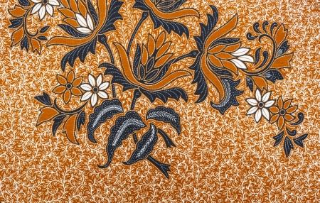 Royalty Free Intricate Floral Batik Motifs