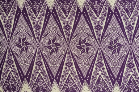 Royalty Free Purple Batik Pattern