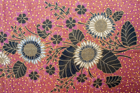 Royalty Free Beautiful Batik Pattern
