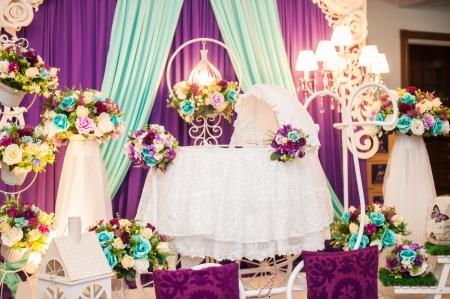 bassinet: Beautiful Decorated Baby Bassinet