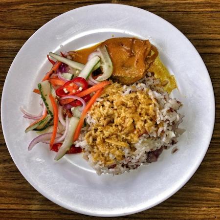 Nasi Dagang Kelantan Breakfast