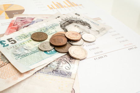 pound sterling: Monthly Expenditure Budgeting, British Pound Sterling