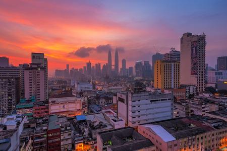 kuala lumpur city: Kuala Lumpur City Hazy Sunrise
