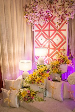 dais: Beautiful Wedding AltarDais