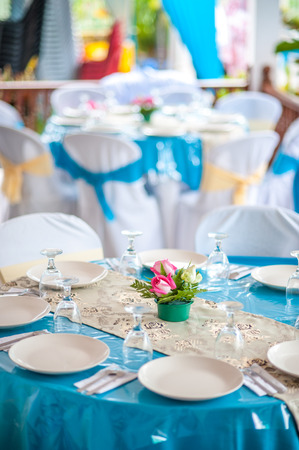 Malay Wedding Table Arrangement