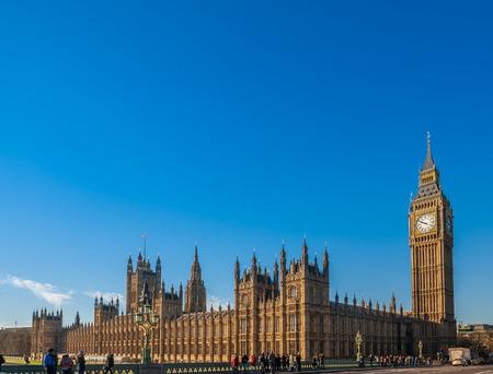 Big Ben and Blue Sky photo