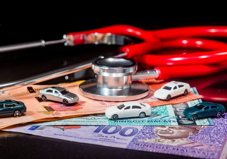 Financial HealthHire Purchase CarsInsurance Concept - Ringgit Malaysia
