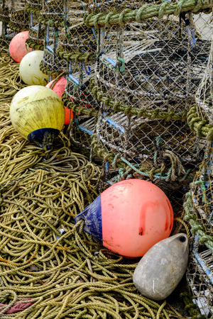 fishing floats: Fishing Floats and Lobster Pots
