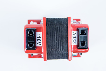 step up: Step up, step down voltage converter, 110V to 220V, with copy space