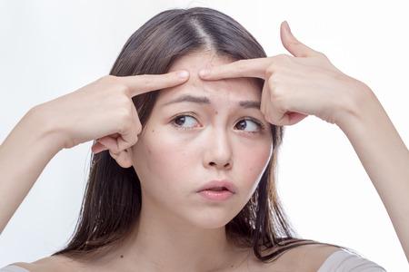 Chinesischer Mädchen Körper