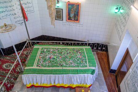 YANGON, MYANMAR - JANUARY 23, 2020: Dargah of Bahadur Shah Zafar, Memorial Hall to Last Moghul Emperor of India