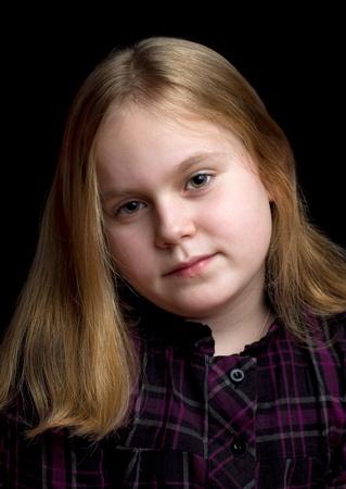 Beautiful girl posing with beautiful hair color  Stock Photo - 13686868