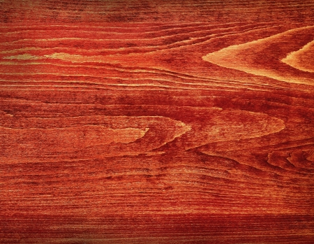 treated board: Overhead studio shot of a wooden board treated with glossy finish