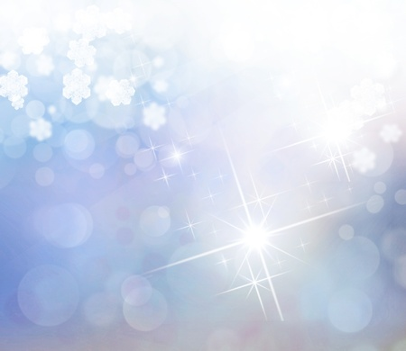 Abstract lighting Christmas star from heavens Stock Photo - 16585039