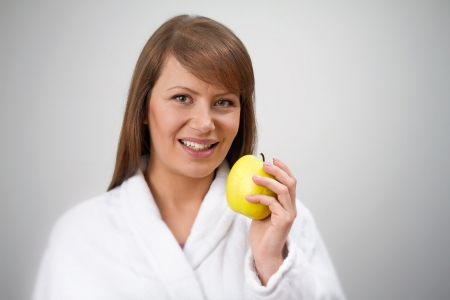 often: Apples are often eaten raw  The whole fruit including the skin is suitable for human consumption except for the seeds