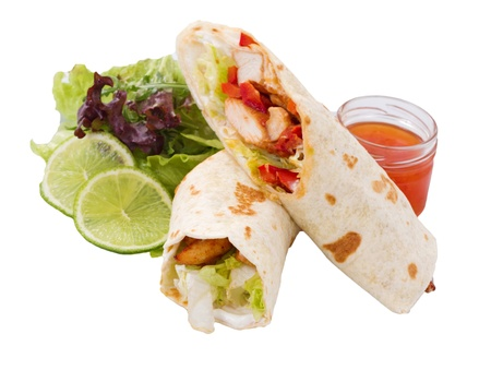 Tortillas are commonly prepared with meat to make dishes such as tacos, burritos, and enchiladas.