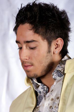 male model portrait  photo