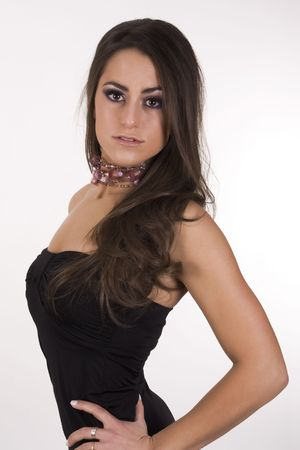 great looking brunette Stock Photo - 4188878