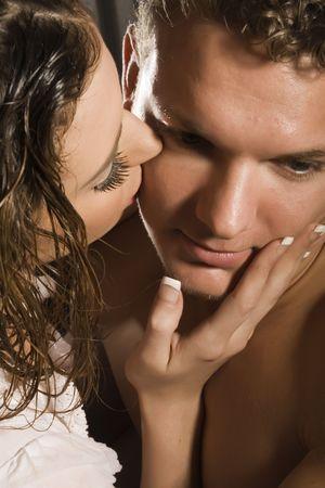bacio sexy: matura baciare