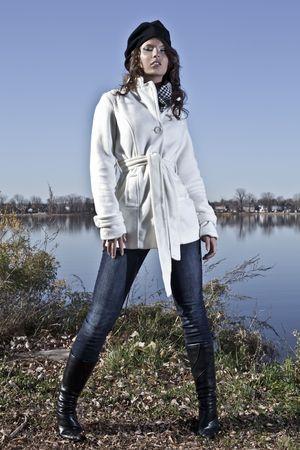 Zeitgenössische Herbst Mode Standard-Bild - 5931353