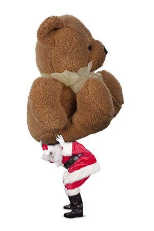 heavy teddy bear Reklamní fotografie - 5963798
