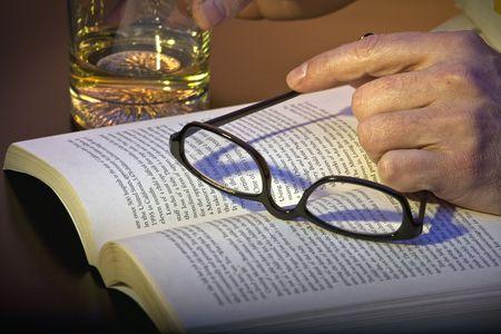 reading a book Stock Photo - 6011071