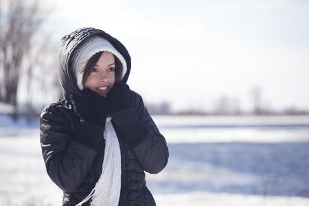 cold winter photo