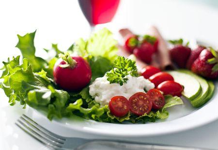 heathy: plate of heathy food