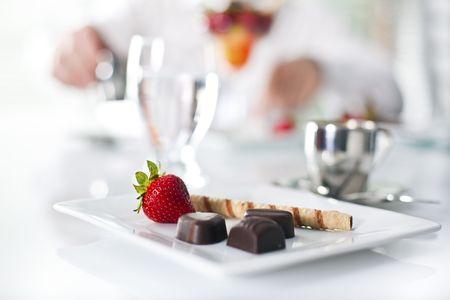 fancy chocolate