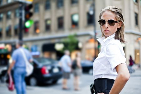 beautiful fashion businesswomen