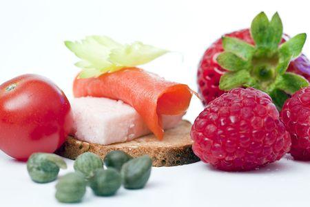 fresh healthy snak